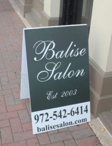 Balise Hair Salon Downtown McKinney